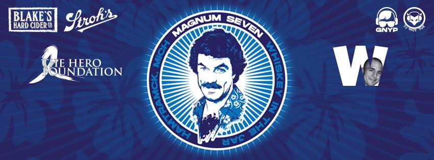 Magnum PI 7 Party